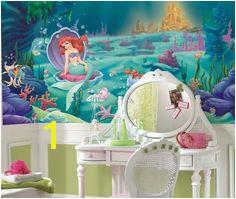 Found it at Wayfair Room Mates XL Murals Littlest Mermaid Chair Rail Wall Decal