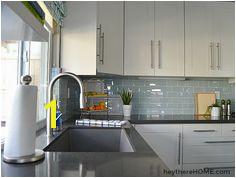 blue glass tile backsplash Tin Tile Backsplash Rustic Backsplash Backsplash For White Cabinets