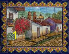 Mexican Mural Tiles 8 Best Mural Talavera Images