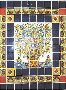 Mexican Mural Tiles 86 Best Mex Murals Images