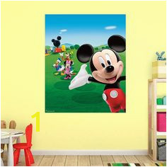 Mickey Mouse Clubhouse Fathead Wall Mural Disney Mural Disney Wall Decals Mickey Mouse Room