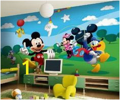 [ Details About Mickey Mouse Disney Wallpaper Wall Mural Amp Friends Window View Decal Sticker ] Best Free Home Design Idea & Inspiration