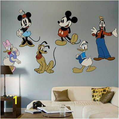 Fathead Classic Mickey Mouse and Friends Wall Decal