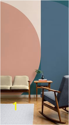 Mid Century Modern Wall Mural 131 Best Geometric Wall Images