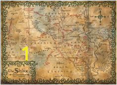 Hobbit Map Wallpaper Map of the shire middle earth Lotr The Hobbit Map
