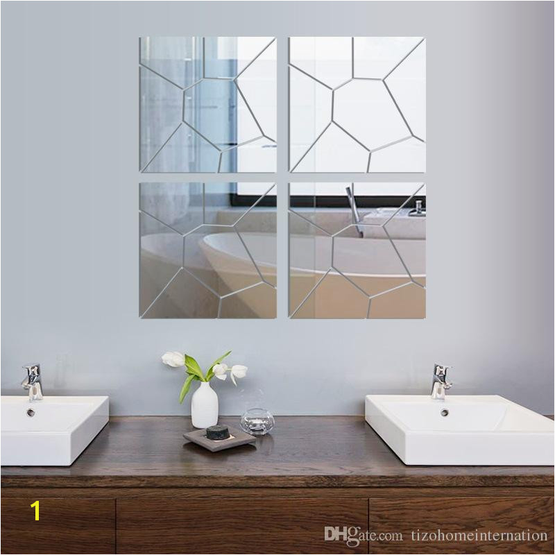 Mirror Murals Walls New Diy 3d Acrylic Mirror Decal Mural Wall Sticker Home Decor