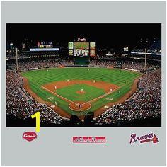 MLB Mural Fathead Turner Field