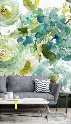 Cool Watercolor Floral