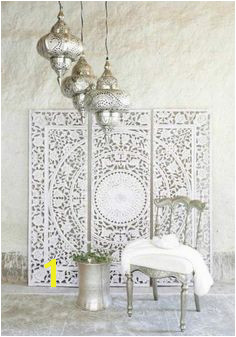 DIY Moroccan Style Wall Stencil Tutorial Moroccan Wall Art Moroccan Bedroom Decor Morrocan