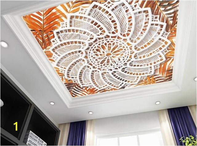 Moroccan Wall Murals Creative Nonwoven Wallpaper Pattern 3d Ceiling Murals Wallpaper