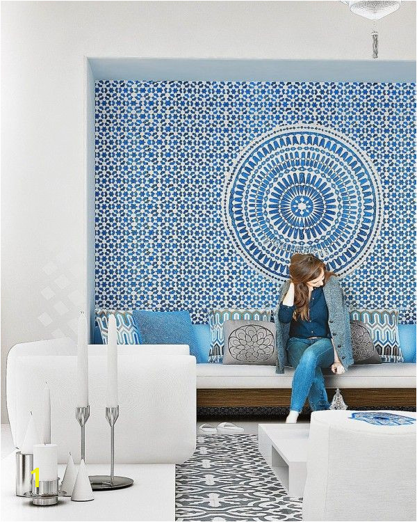 The following images are also from the designers at Mimar Interiors but represent more modern and varied takes on Moroccan styles