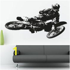 Motocross Wall Murals Motocross Wall Decals Dirt Bike Wall Decals