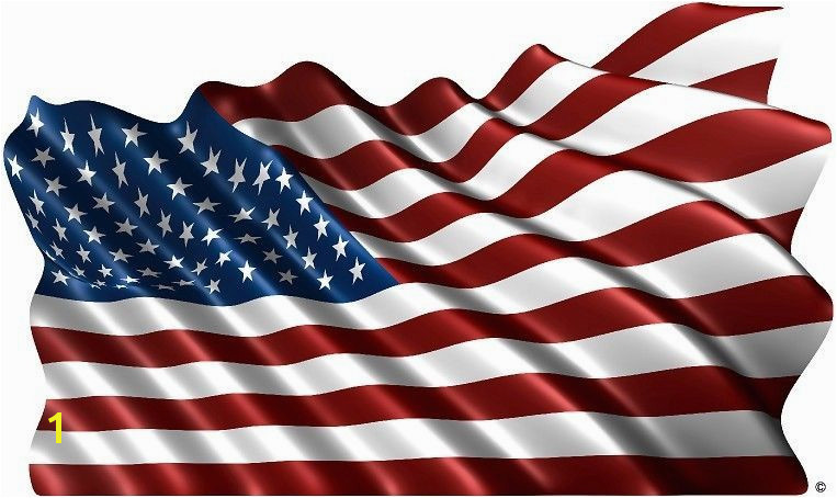 American flag rv motorhome trailer vinyl graphic decal mural