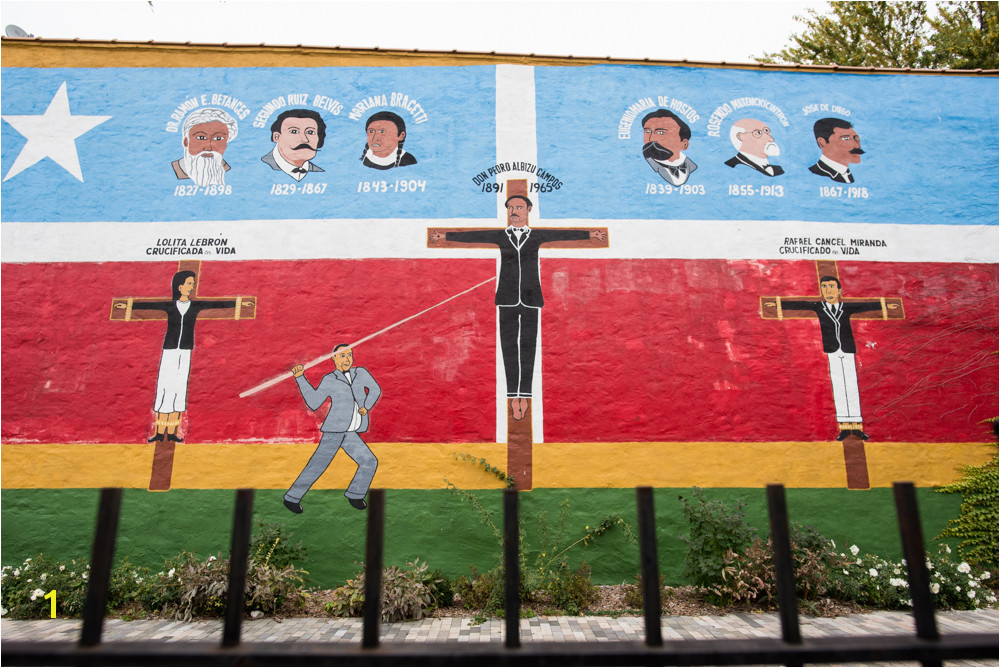 In a fenced in lot on the corner of Artesian and North avenues stands one of the oldest Puerto Rican themed murals in Humboldt Park La Crucifixion de Don