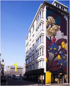 Mural by Pastelfd Ostend Belgium