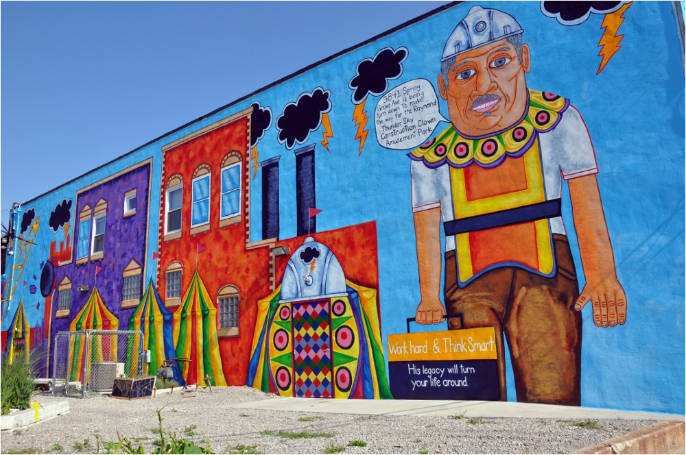 The Raymond Thunder Sky Legacy Mural