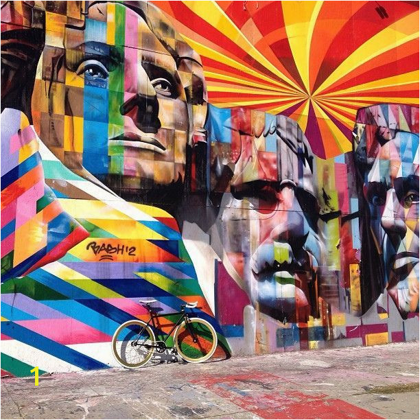 Flavors of Belize South La Brea Los Angeles California by eduardo kobra