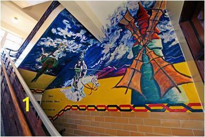 Don Quixote mural