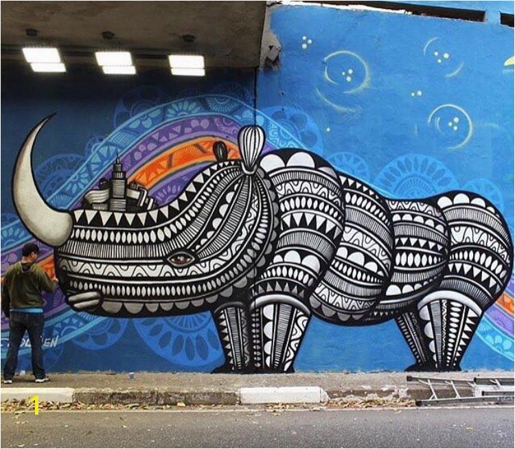 Street Art by Cadumen Sao Paulo Brazil art mural graffiti streetart