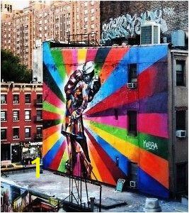 The High Line Kobra Street Art Murals Street Art Mural Art Street Art