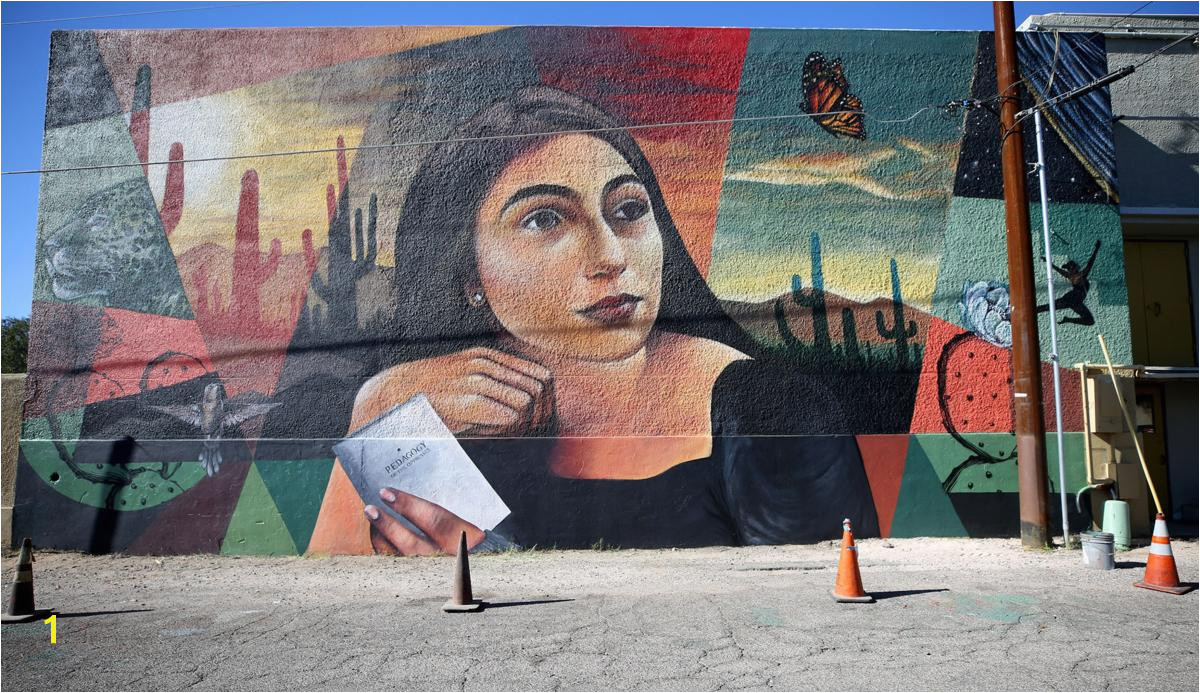 Hey artists Now s your chance to create a mural in downtown Tucson Local news