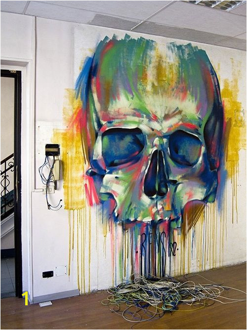 Art This skull is awesome