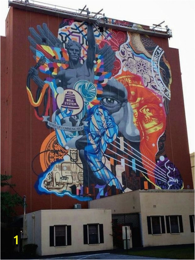 New Mural by Tristan Eaton in West Palm Beach Florida