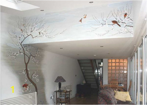 Mural Designs On Wall Interior Decorating with Japanese Wall Murals Design
