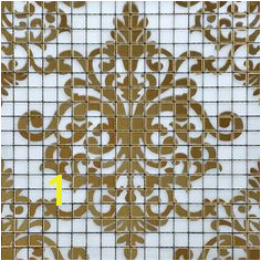 Gold glass tile murals wall stickers plated crystal backsplash ideas bathroom decor designs puzzle mosaic collages tiles sheets TMF057