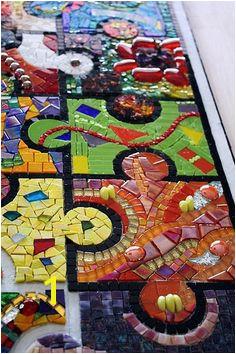 Mural Mosaic Puzzles 19 Best Mosaics Lin Schorr Images