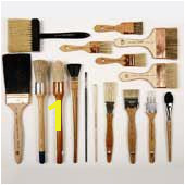 Fine decorative painting brushes and tools glazing brushes mural stencil plaster and