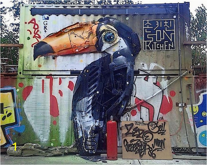 Street Art NYC at em Urban Spree em in Berlin with Low Bros Bordalo II Jimmy C Zabou Paola Delfin and Icy & Sot