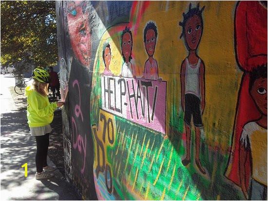 Bicycle Tours of Atlanta grafiti tunnel
