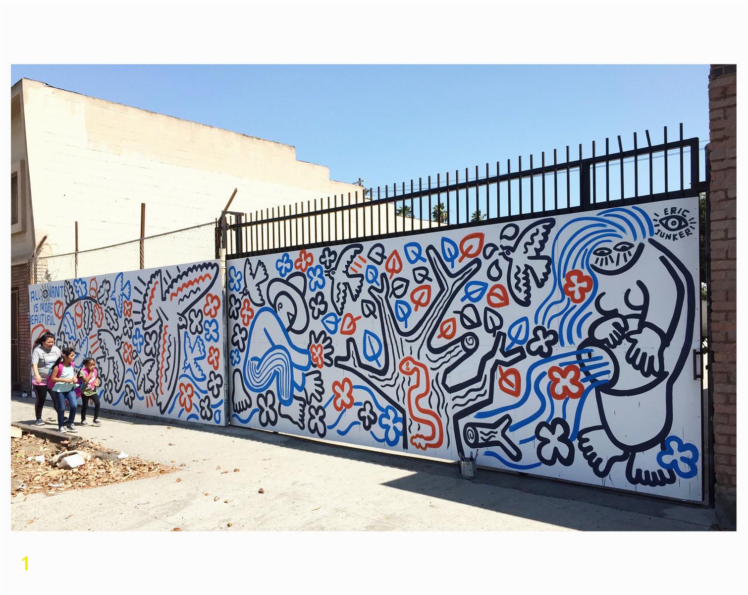 Eric Junker Mural Los Angeles ···
