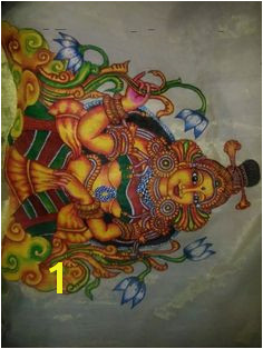 ral for fabric Kerala Mural Painting Indian Paintings Fabric Painting Murals