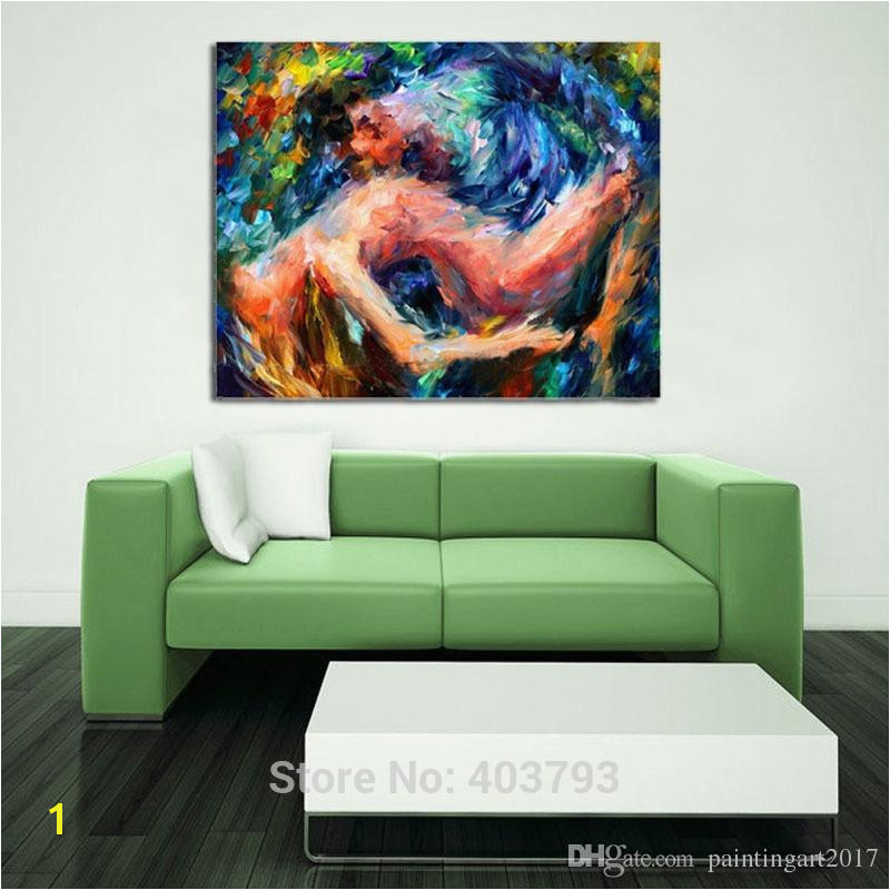 2019 Lovers Nude y Wall Art Hand Painted Oil Painting Nude Women Abstract Canvas Art Christmas Gifts Home Decor From Paintingart2017