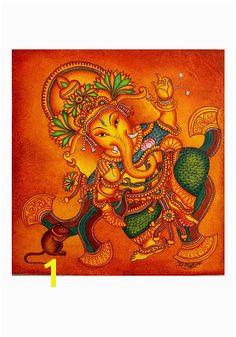 Kerala Mural Painting – Desically Ethnic Kerala Mural Painting Madhubani Painting Indian Gods