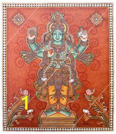 Kerala Mural Painting Mural Art Murals Hindu Deities Indian Paintings Indian Art Outline Folk Art Temple