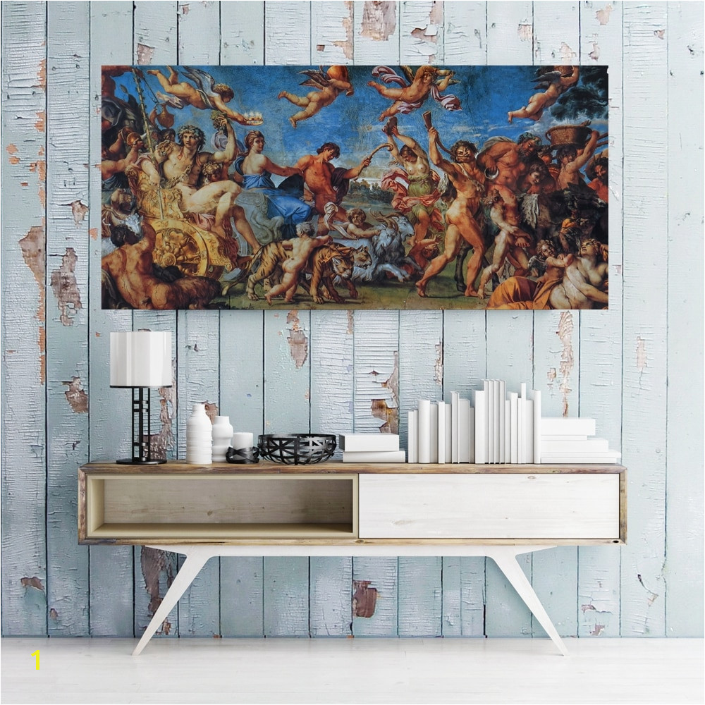 The Ancient Greek Myth Painting Canvas Print Cupid Wall Art Artwork Picture for Dining Room Wall Decor Vintage Home Decoration in Painting & Calligraphy