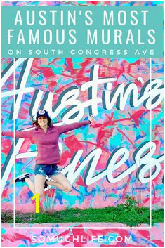 Austin s most famous murals on South Congress Avenue and where to eat by them