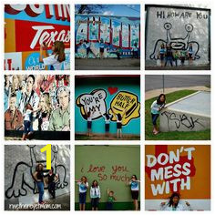 Austin Murals fun places to take pics Texas Vacations Vacation Places Texas