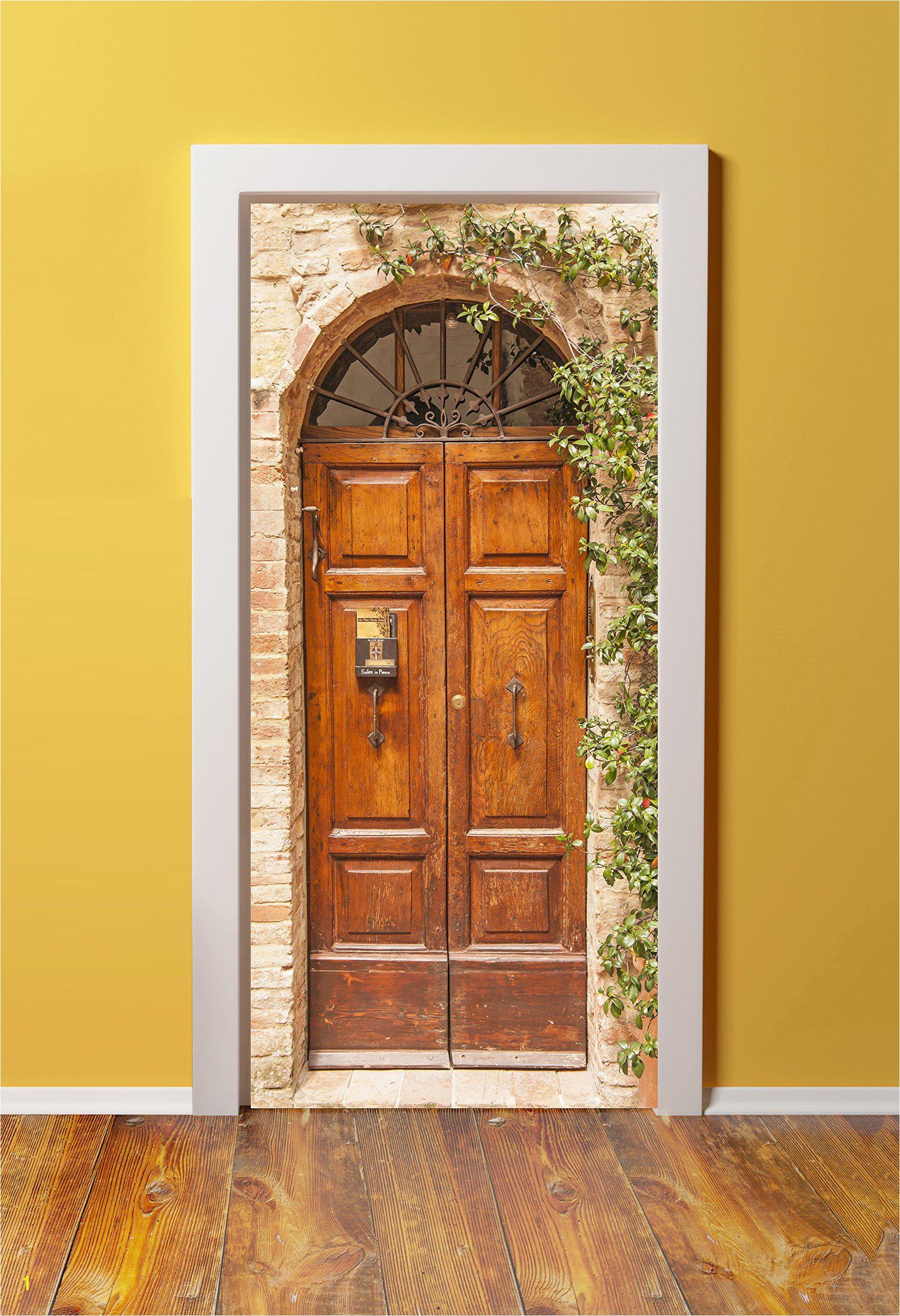 Murals for Doors Amazon 36×80 Canvas 3d Door Sticker Murals Peel & Stick