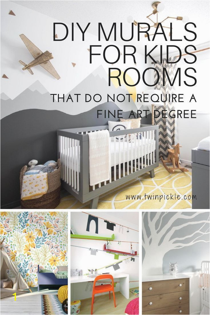 You don t need a fine art degree to create the perfect mural for your kids s room There are loads of options for the slightly less artistic nervous of