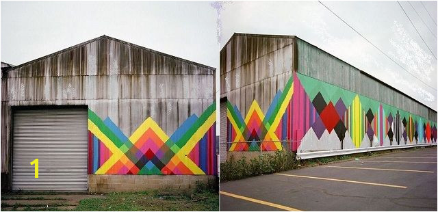 Modify an Old Barn with Bold Colors to Beautify The Outdoor Wall
