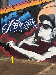 A street art gallery located in Kaka ako Oahu hawaii