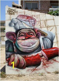 NAPOL Urbane Straßenkunst 3d straßenkunst Straßenkünstler Urbane Kunst Banksy Graffiti