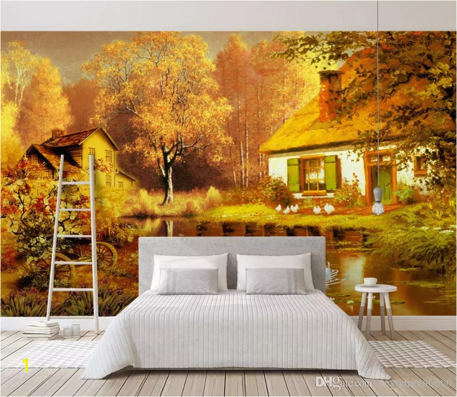 Custom Modern Aesthetic Dream Wallpaper Landscape Living Room Bedroom 3D TV Background Wall Murals 2019 New Home Improvement Animated Wallpaper Animated