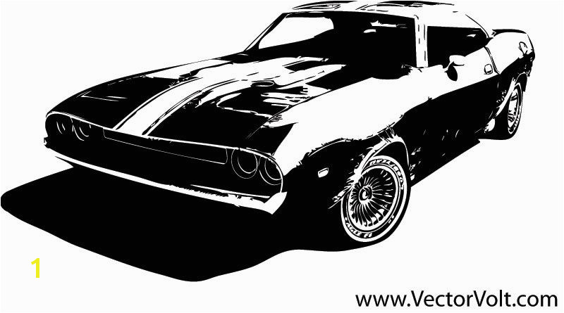 Muscle Car Graphic