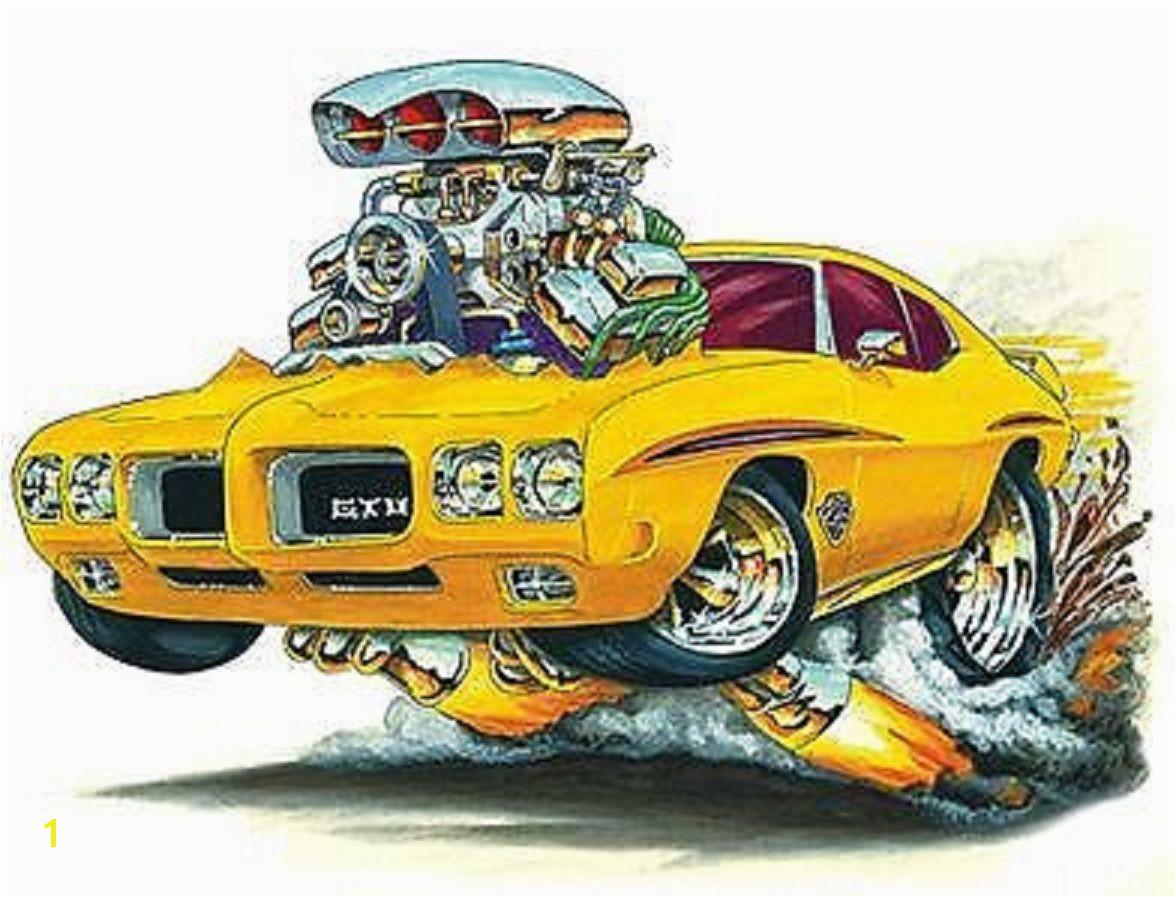 Cooles Poster Weird Cars Cool Cars Crazy Cars Pontiac Gto Automotive