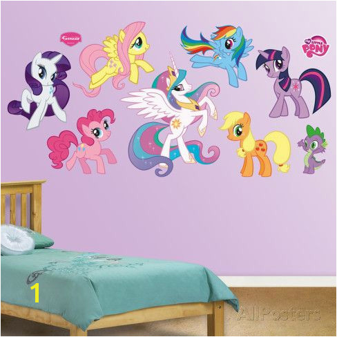 My Little Pony Collection Wall Decal at AllPosters